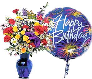 Image of birthday flowers